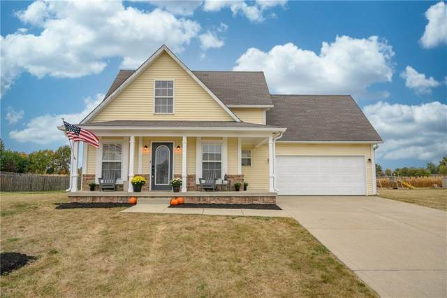 2286 E Mill Stream Drive, Greenfield, IN 46140 (MLS #21745646) :: Richwine Elite Group