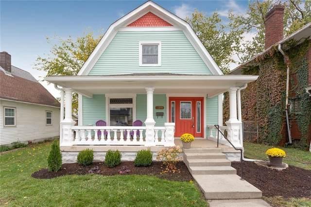 801 N Rural Street, Indianapolis, IN 46201 (MLS #21745733) :: The ORR Home Selling Team