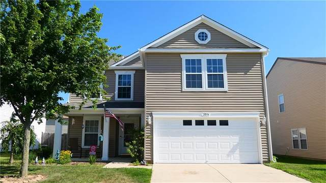 2974 Hearthside Drive, Greenwood, IN 46143 (MLS #21745744) :: The ORR Home Selling Team
