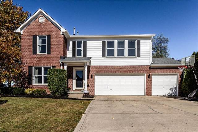 10716 Gateway Drive, Fishers, IN 46037 (MLS #21745766) :: The ORR Home Selling Team