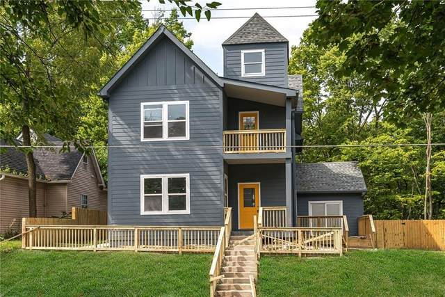 1224 N Newman Street, Indianapolis, IN 46201 (MLS #21745838) :: AR/haus Group Realty