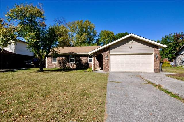4744 Dancer Drive, Indianapolis, IN 46237 (MLS #21745842) :: The Evelo Team