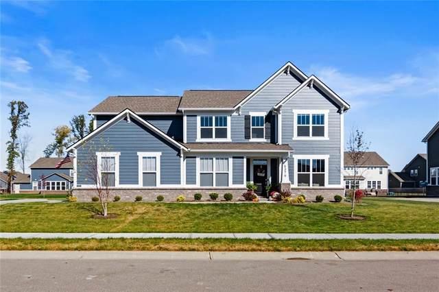 6376 Hatfield Way, Brownsburg, IN 46112 (MLS #21745870) :: The ORR Home Selling Team