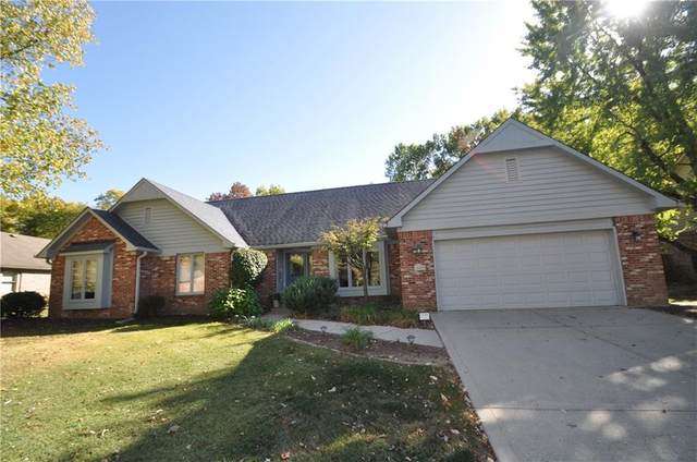 10229 Leeward Boulevard, Indianapolis, IN 46256 (MLS #21745922) :: Mike Price Realty Team - RE/MAX Centerstone