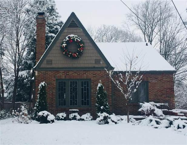 520 E 61st Street, Indianapolis, IN 46220 (MLS #21745928) :: Richwine Elite Group