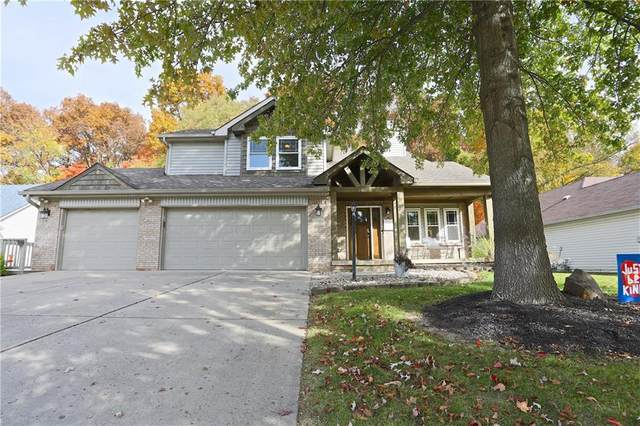 8728 Sunningdale Boulevard, Indianapolis, IN 46234 (MLS #21745938) :: Mike Price Realty Team - RE/MAX Centerstone