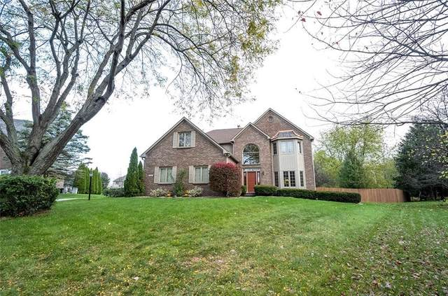 11704 Sea Star Circle, Fishers, IN 46037 (MLS #21745949) :: The Indy Property Source