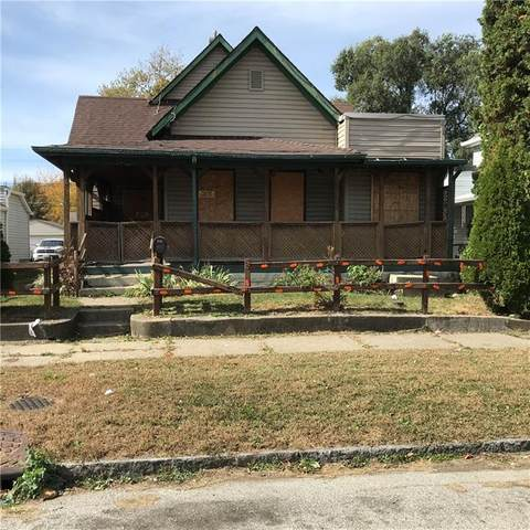 834 Marion Avenue, Indianapolis, IN 46221 (MLS #21745950) :: Richwine Elite Group
