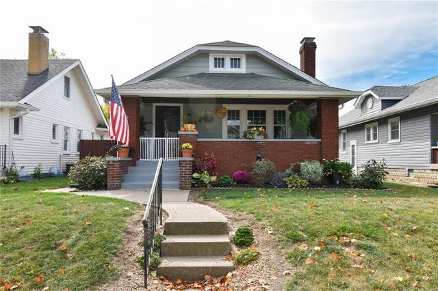 5035 W 14TH Street, Speedway, IN 46224 (MLS #21745998) :: Mike Price Realty Team - RE/MAX Centerstone