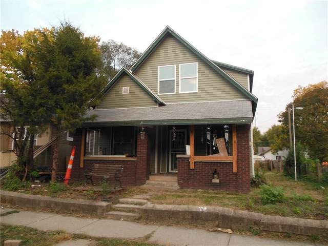 433 N Denny Street, Indianapolis, IN 46201 (MLS #21746013) :: AR/haus Group Realty
