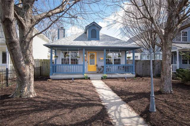 911 Paca Street, Indianapolis, IN 46202 (MLS #21746083) :: The Indy Property Source