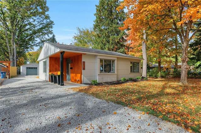5638 Indianola Avenue, Indianapolis, IN 46220 (MLS #21746092) :: The ORR Home Selling Team