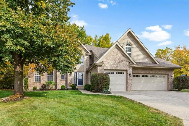 10824 Pine Bluff Drive, Fishers, IN 46037 (MLS #21746100) :: The Indy Property Source