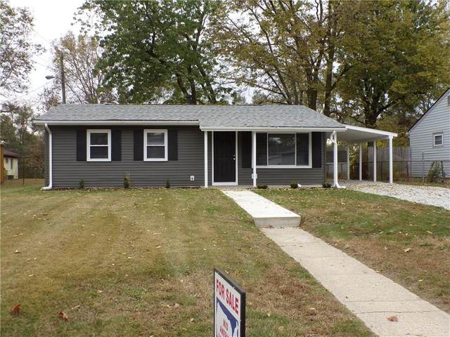 3409 W Murray Street, Indianapolis, IN 46221 (MLS #21746163) :: The ORR Home Selling Team