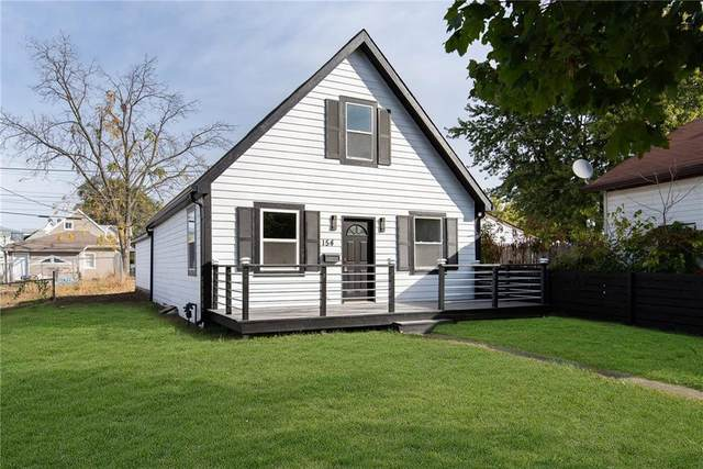 154 W Arizona Street, Indianapolis, IN 46225 (MLS #21746210) :: The ORR Home Selling Team