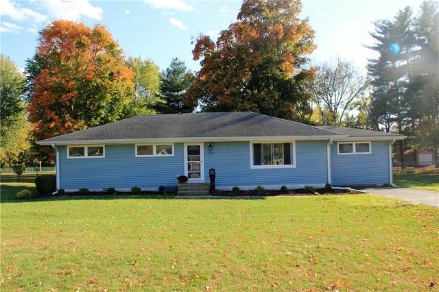 1519 Rocky Ford Road, Columbus, IN 47203 (MLS #21746302) :: Richwine Elite Group