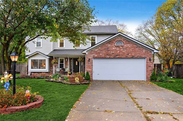 245 Whispering Willow Court, Noblesville, IN 46060 (MLS #21746318) :: Your Journey Team