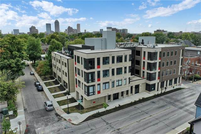 319 E 16th Street #204, Indianapolis, IN 46202 (MLS #21746360) :: The Evelo Team