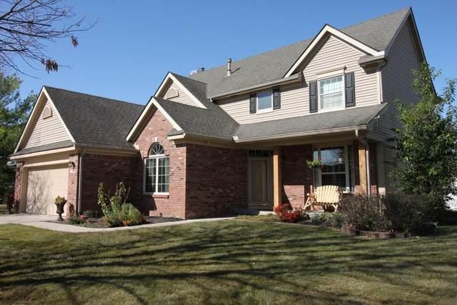 12738 Tealwood Drive, Indianapolis, IN 46236 (MLS #21746378) :: Corbett & Company