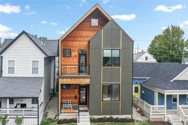 1140 Fletcher Avenue, Indianapolis, IN 46203 (MLS #21746393) :: AR/haus Group Realty