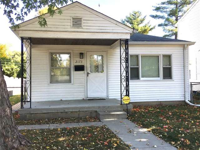 2173 N Dequincy Street, Indianapolis, IN 46218 (MLS #21746399) :: AR/haus Group Realty