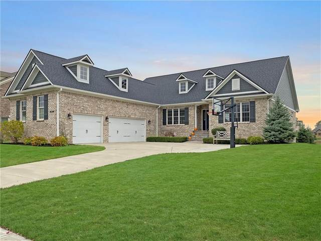 14424 Gainesway Circle, Fishers, IN 46040 (MLS #21746413) :: Corbett & Company
