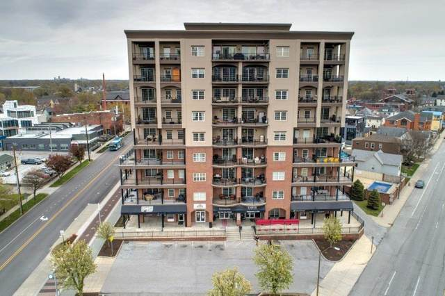 435 Virginia Avenue #705, Indianapolis, IN 46203 (MLS #21746417) :: The Evelo Team