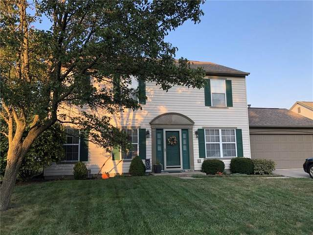 7445 S Tarragon Place, Indianapolis, IN 46237 (MLS #21746454) :: The ORR Home Selling Team
