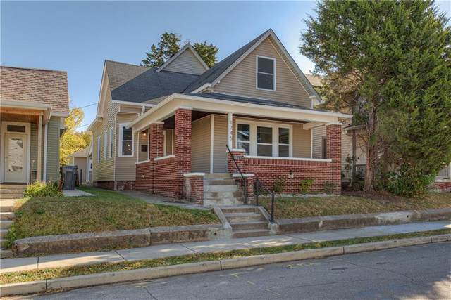 1745 S Union Street, Indianapolis, IN 46225 (MLS #21746489) :: Corbett & Company