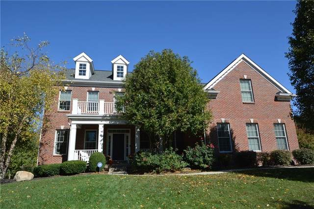 12192 Steepleview Court, Fishers, IN 46037 (MLS #21746493) :: The Indy Property Source