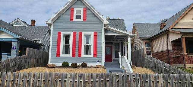 346 Sanders Street, Indianapolis, IN 46225 (MLS #21746496) :: Heard Real Estate Team | eXp Realty, LLC