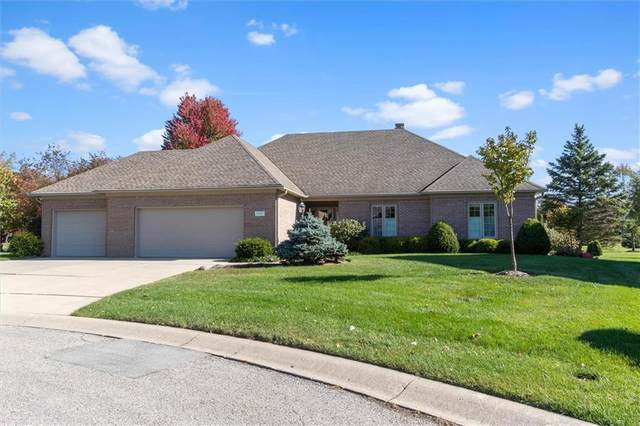 4161 1st Flight Circle, Zionsville, IN 46077 (MLS #21746557) :: The Indy Property Source