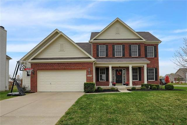 3550 Mossy Rock, Zionsville, IN 46077 (MLS #21746607) :: The Indy Property Source