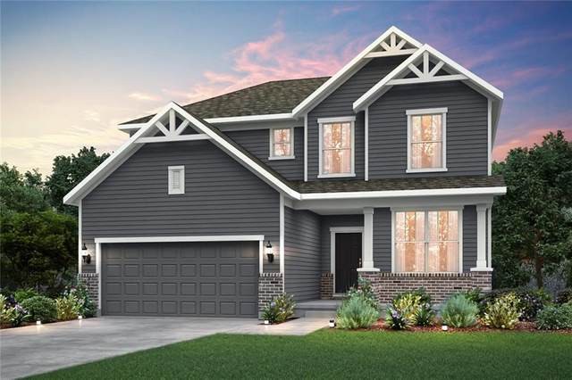 1403 Oak Lake Lane, Brownsburg, IN 46112 (MLS #21746638) :: Richwine Elite Group