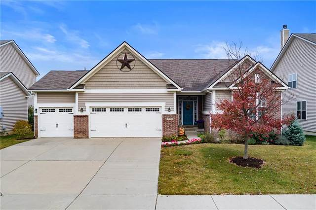 649 Palmyra Drive, Westfield, IN 46074 (MLS #21746686) :: The Indy Property Source