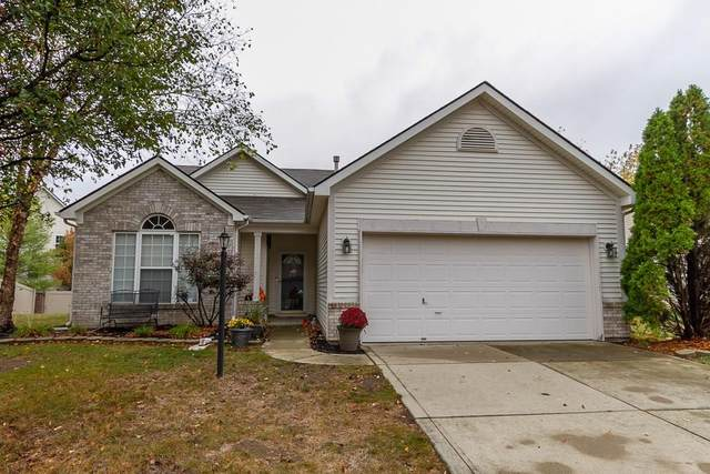 13973 Leatherwood Drive, Carmel, IN 46033 (MLS #21746715) :: David Brenton's Team