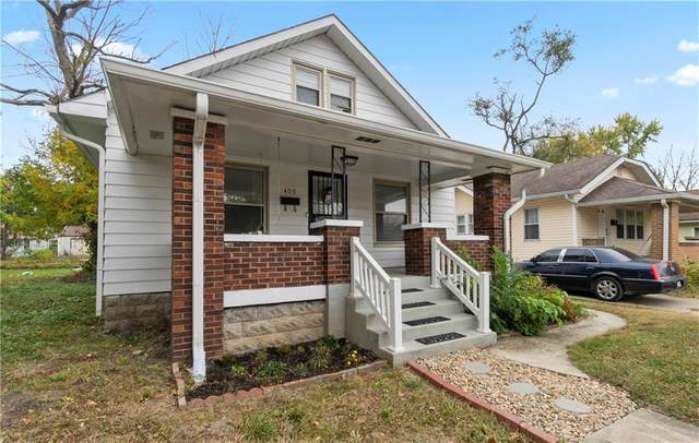 409 S Butler Avenue, Indianapolis, IN 46219 (MLS #21746720) :: David Brenton's Team