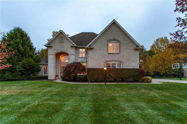 14403 Salem Drive E, Carmel, IN 46033 (MLS #21746755) :: The ORR Home Selling Team