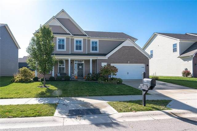 14963 Mancroft Drive, Fishers, IN 46037 (MLS #21746764) :: The Indy Property Source