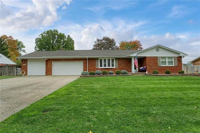 7625 Surrey Drive, Indianapolis, IN 46227 (MLS #21746787) :: The ORR Home Selling Team