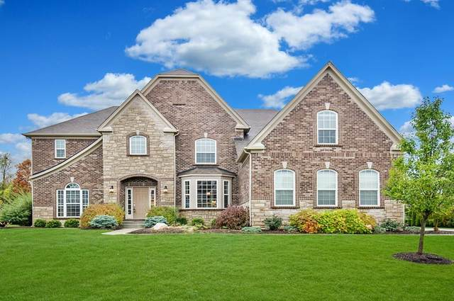 3909 Sunningdale Way, Carmel, IN 46033 (MLS #21746865) :: Mike Price Realty Team - RE/MAX Centerstone
