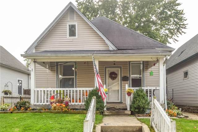 1209 Comer Avenue, Indianapolis, IN 46203 (MLS #21746921) :: AR/haus Group Realty