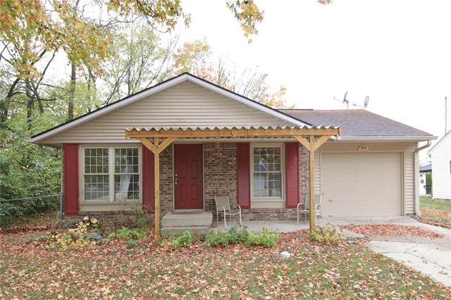 821 Meadow Lane, Greenfield, IN 46140 (MLS #21746930) :: Richwine Elite Group