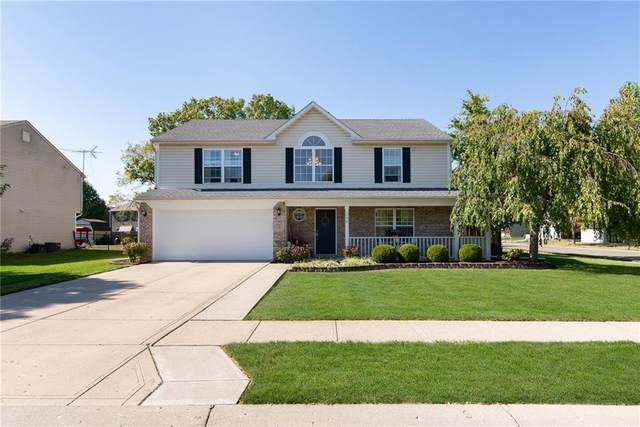 1590 Turning Leaf Drive, Franklin, IN 46131 (MLS #21746988) :: The Indy Property Source