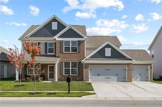 4355 Spirea Drive, Plainfield, IN 46168 (MLS #21747007) :: The Indy Property Source