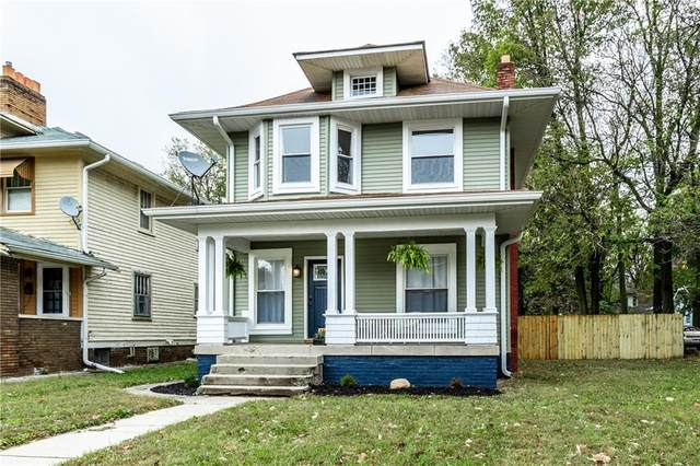 3465 Carrollton Avenue, Indianapolis, IN 46205 (MLS #21747017) :: The ORR Home Selling Team