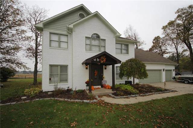 2614 Schoolmaster Drive, Plainfield, IN 46168 (MLS #21747048) :: The Indy Property Source