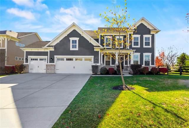 4201 Birkdale Boulevard, Carmel, IN 46033 (MLS #21747114) :: Richwine Elite Group