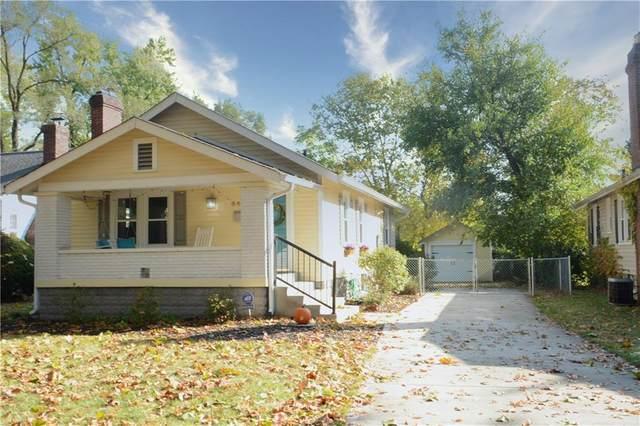 6447 N Broadway Street, Indianapolis, IN 46220 (MLS #21747122) :: The ORR Home Selling Team