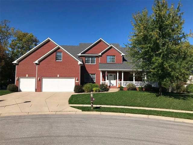 113 Walnut Woods Drive, Greenwood, IN 46142 (MLS #21748200) :: Anthony Robinson & AMR Real Estate Group LLC